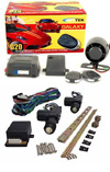 2 Door Power Lock Kit with G20 Keyless Entry and Alarm