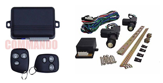 Power Door Lock Kit W Keyless Entry 2 Door At Commando Car Alarms